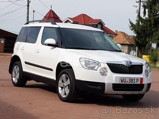 Osobné autá predaj   ponuka Rimavská Sobota ŠKODA YETI 2.0 TDI 4x4 ... fe6a94d0bc8
